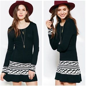 For Love and Lemons • New Intarsia Sweater Dress